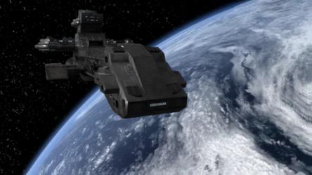 BC-303 in orbit