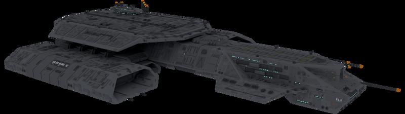 304-class battlecruiser Flight III Qin Shi Huang
