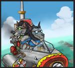 WoW: Worgens go Adventure by Fregatto