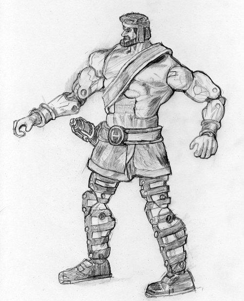 Marvel Legends Hercules  by zodberg on DeviantArt