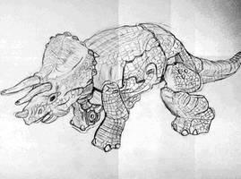 Dinobot Triceradon