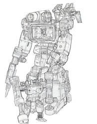 Masterpiece Soundwave by zodberg