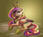 Princess Cadenza WIP(Crit please)