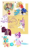 MLP art dump 2: Electric Boogaloo