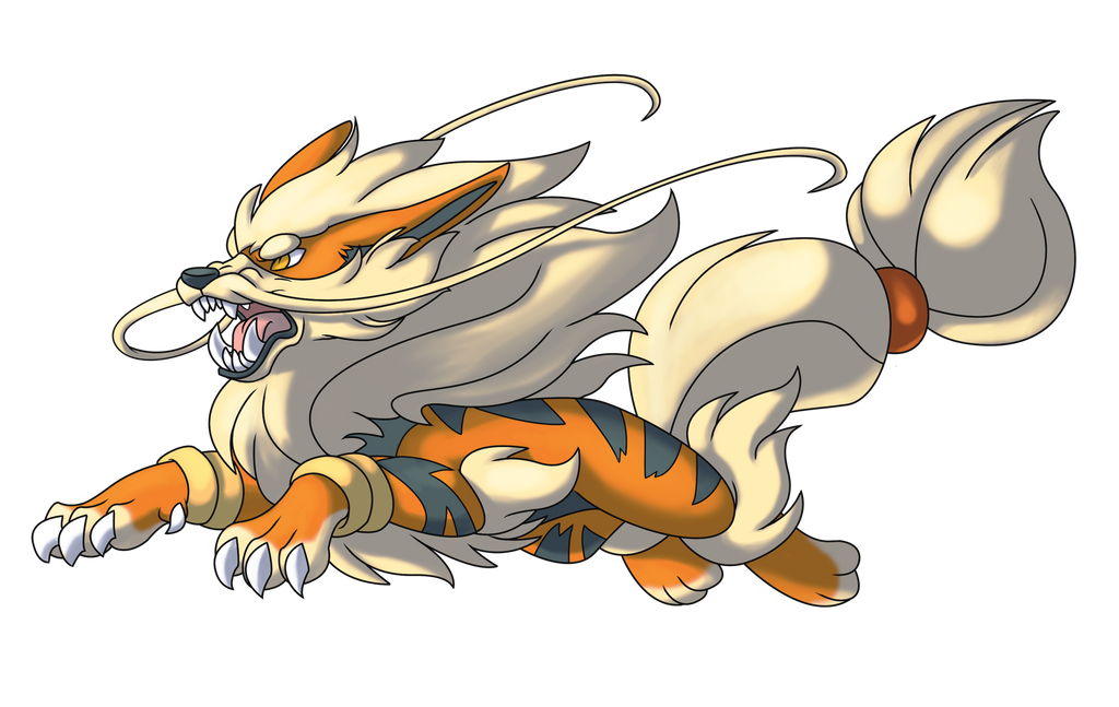 Mega Arcanine by Lopoddity on DeviantArt
