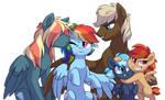 NG: Rainbow Dash's family