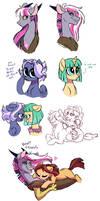 Pandoraverse Doodles 4