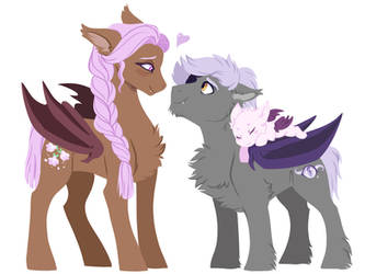 Happy Bats by Lopoddity