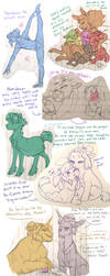 4th Mega Doodle Dump by Lopoddity
