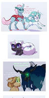 Doodle Dump: Parasitic Bug Monsters by Lopoddity