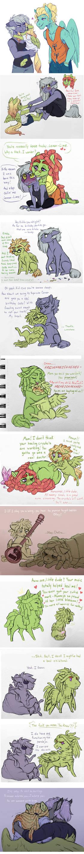Doodle Dump: Healing