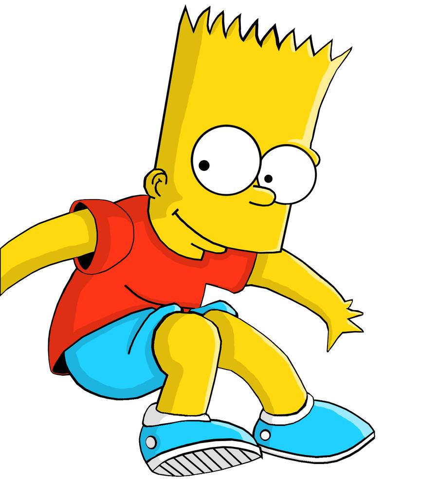 Bart simpson en un par de horas by kingofmagik