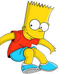 Bart simpson en un par de horas