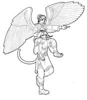 Ranulf and Janaff - Secret Valentine by Nijichan