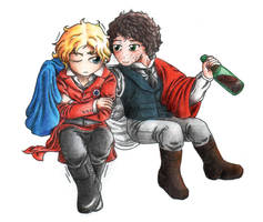 Let me keep you warm - coloured version by Nijichan