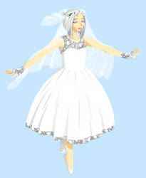 Bride!Yuki by Nijichan