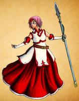 Christmas Princess Marcia - FE7 by Nijichan