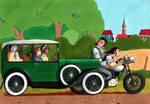 On the road again ! - OCs by Nijichan
