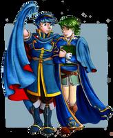 Two boyfriends in the wind - Fire Emblem