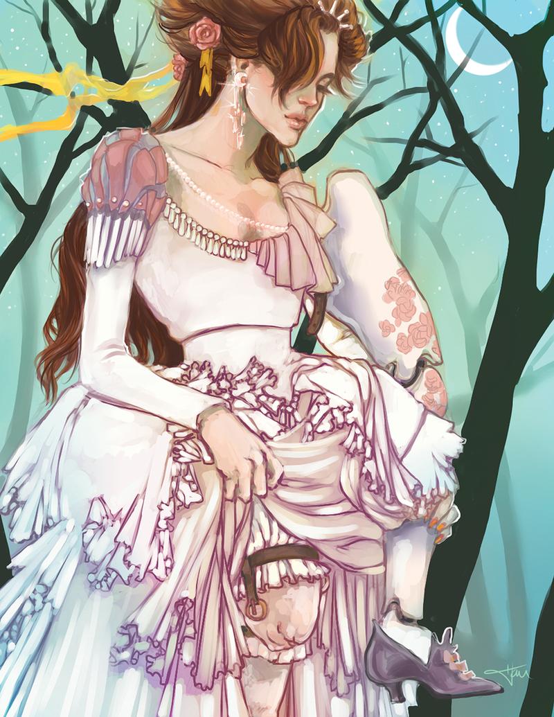Commission: 12 Dancing Princesses by hau