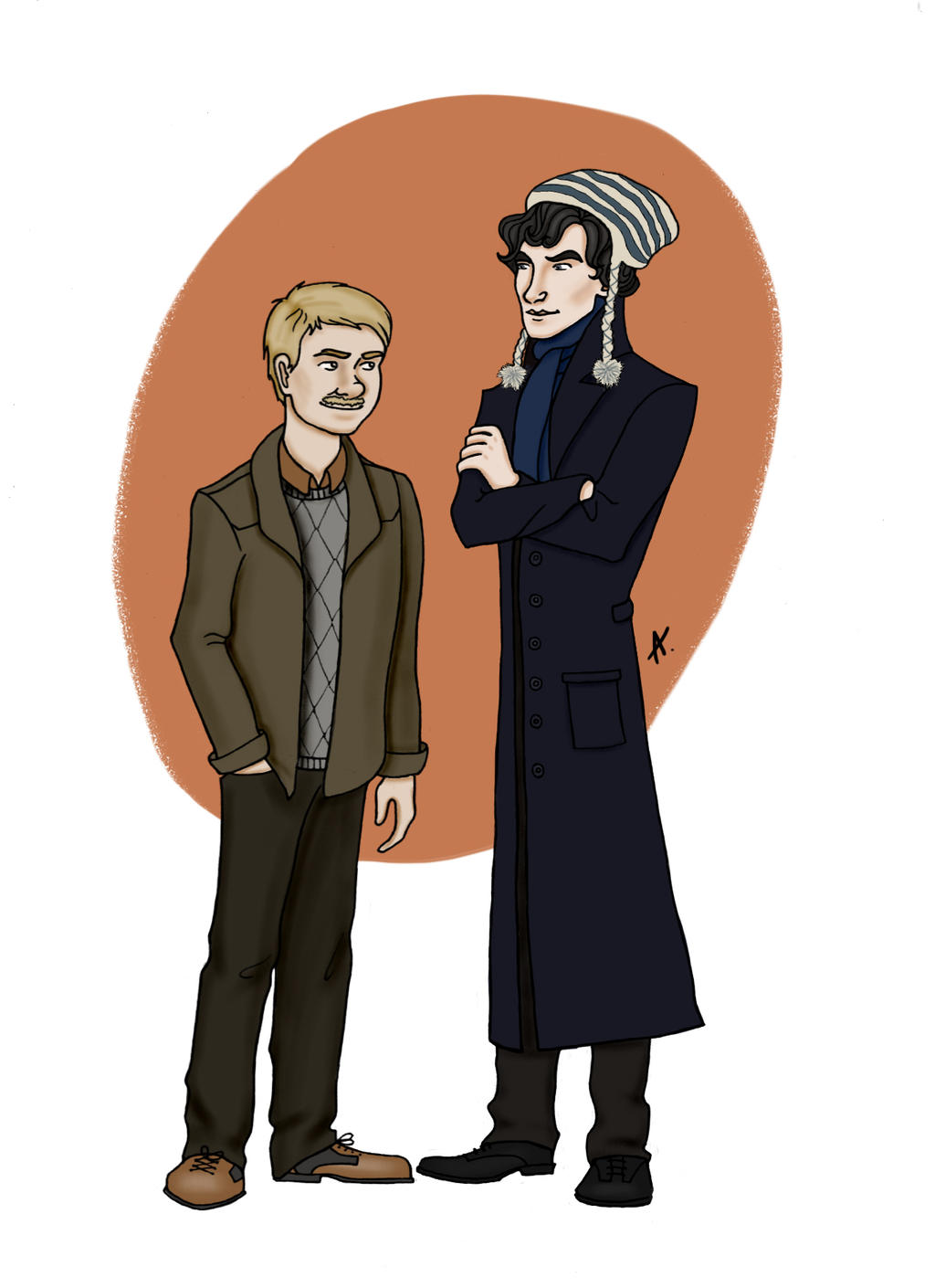 Johnlock by AlexandraSasha