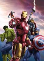 Cine Premiere-Avengers Cover by Tozani
