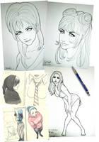 Sketches Tsunami 3 by Tozani