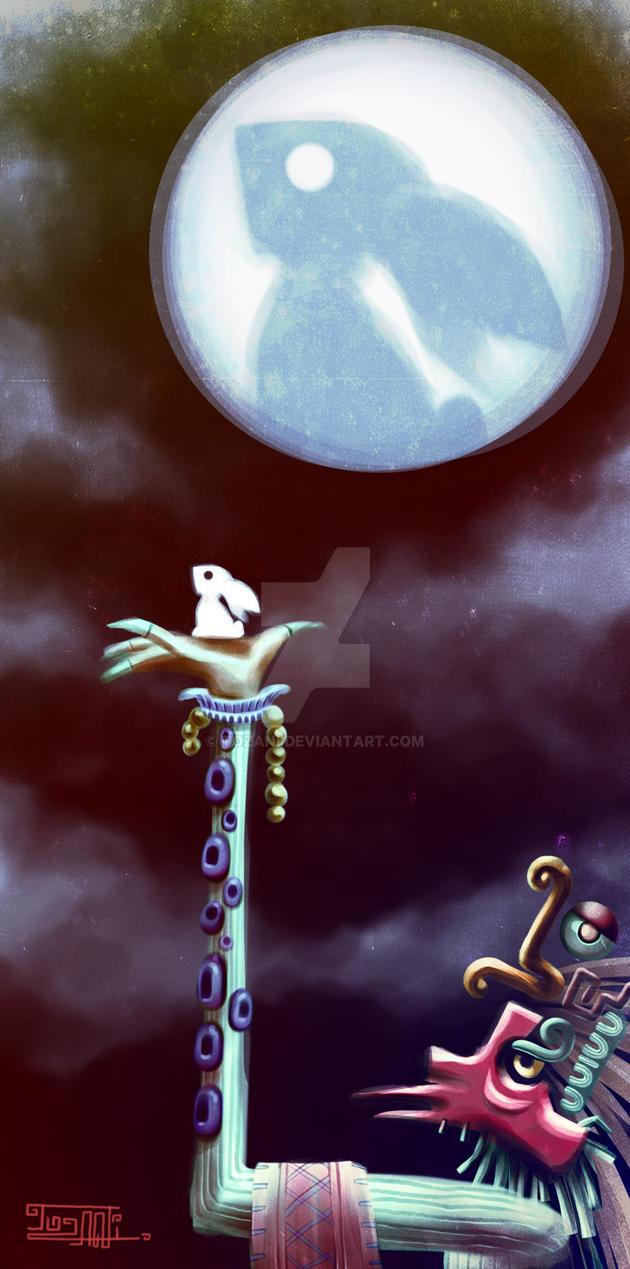 Conejo de la Luna by Tozani