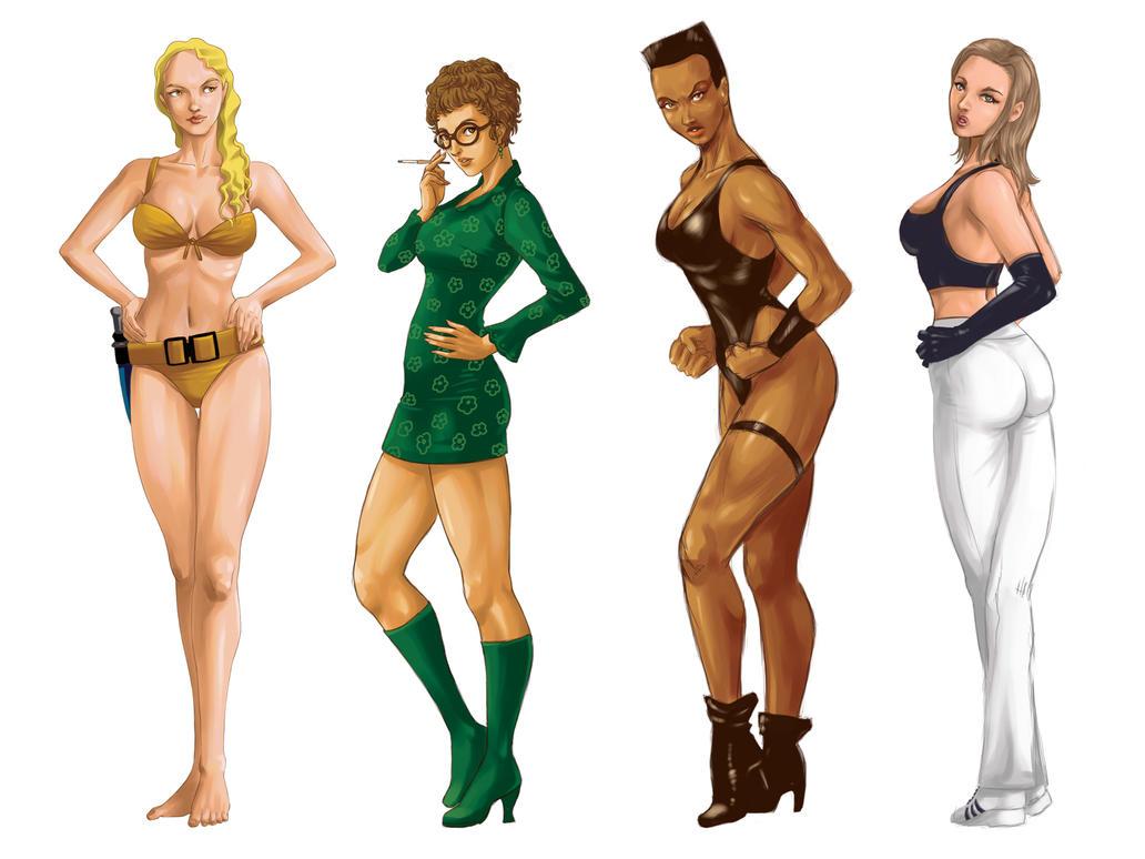 Chicas Bond by Tozani