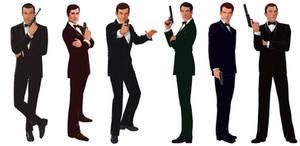 Bond... James Bond by Tozani