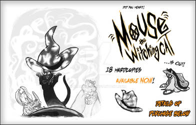 MOUSE THE WITCHING CAT OFFICIALLY ON SALE