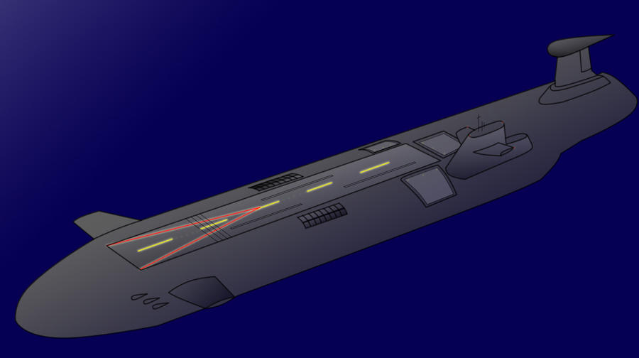 Underwater aircraft carrier by VoughtVindicator