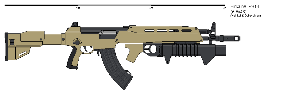 VS13 Assault Rifle by VoughtVindicator
