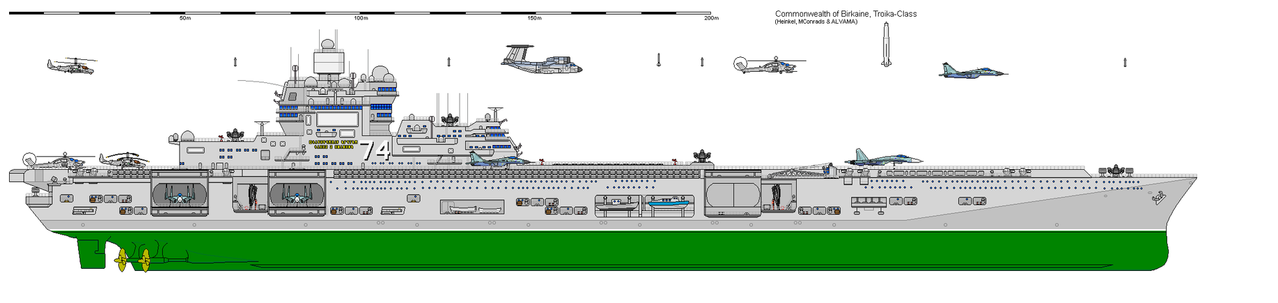 Troika-Class Supercarrier by VoughtVindicator