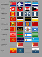 Strangereal flags - Vicky II style by VoughtVindicator