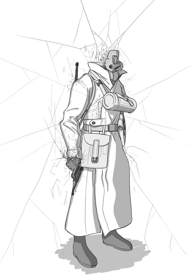 SS-Fraktalgrenadier by VoughtVindicator