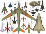 Combat Aircraft of the Ancerious Galaxy (Pt.2)