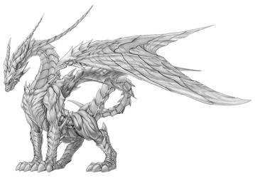 dragon by InfinityWork