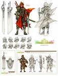 FEZ - Warrior Concept Sheet