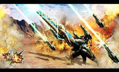 Generu X armor MH4G by InfinityWork