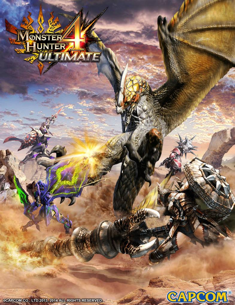 Mh4u Poster Fanart By Infinitywork On Deviantart