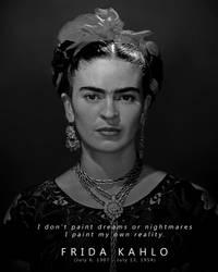 Frida Kahlo - A Portrait Project