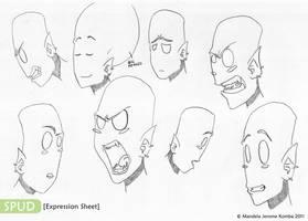 SPUD - Expression Sheet by mandelak