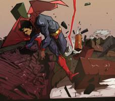 Superman by mandelak