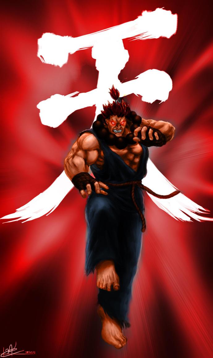 Akuma Raging Demon