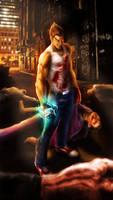 You're next! - Kazuya Tekken 1 by Maruceru