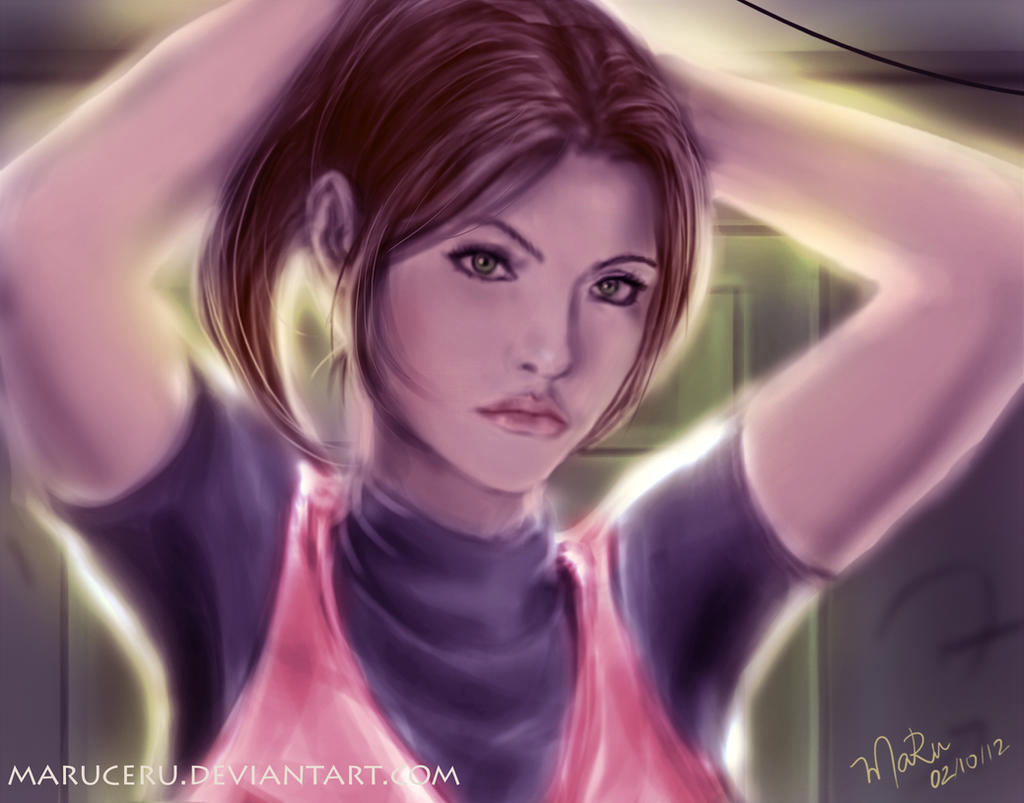 Claire Redfield - I'm ready! by Maruceru