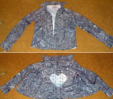 the jacket... end result