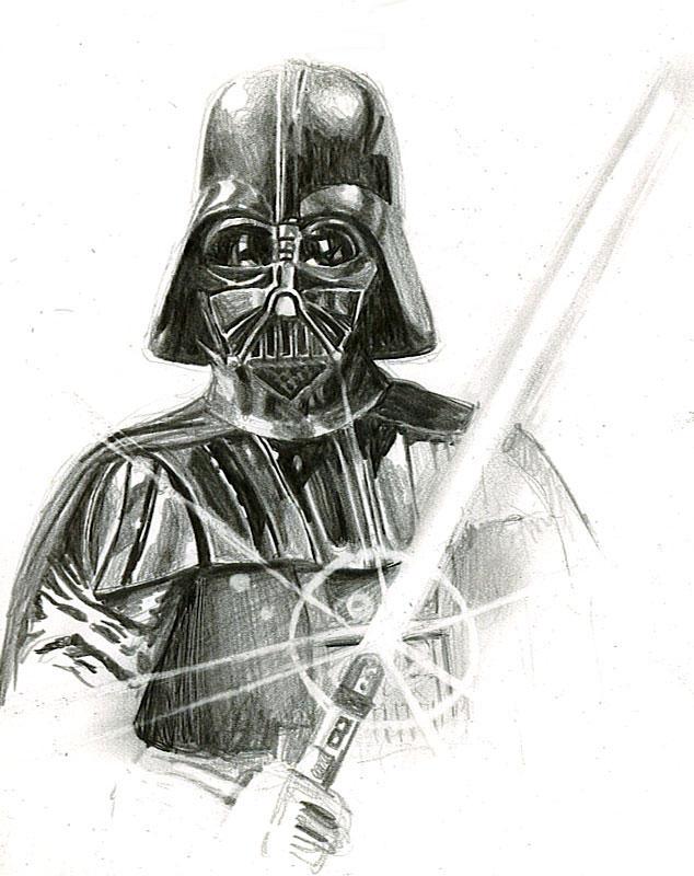 vader sketch by bamboleo