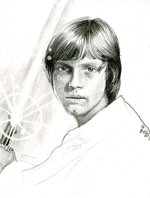 luke sketch by bamboleo